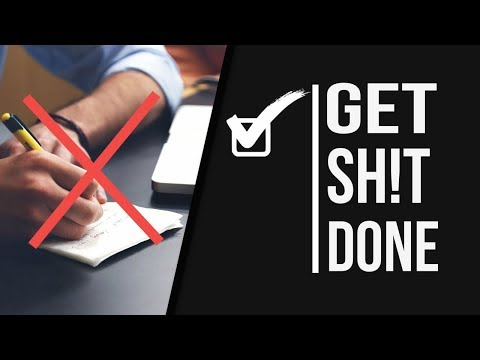 The Problem With To Do Lists! Here's What To Do Instead!