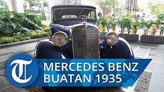 Mengintip Mercedes Benz B 170 Convertible Buatan 1935 di Concours D'Elegance