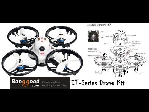 King Kong LDARC Et125 Quadcopter Kit from Banggood