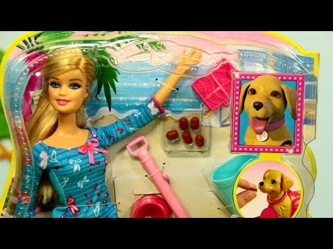 Potty Training Taffy / Barbie z Pieskiem Taffy - Mattel - BDH74 - Recenzja