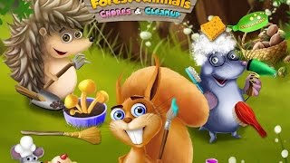 Forest Animals Arts And Crafts TutoTOONS Kids Games Educational Education Android Gameplay Video