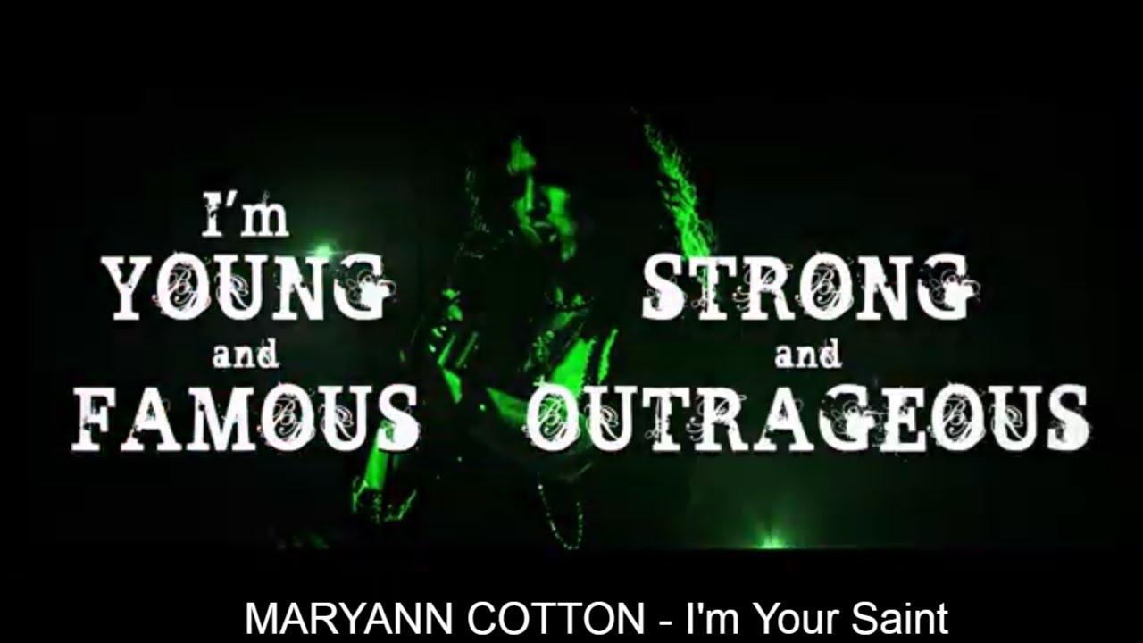 MARYAN COTTON - I'm your saint