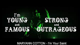 MARYAN COTTON - I'm your saint