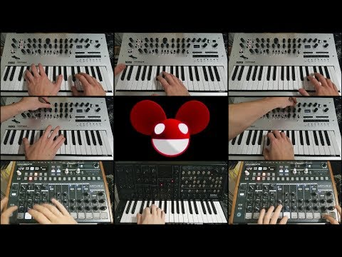 deadmau5 - Brazil (2nd Edit) - Analogue Synth Cover