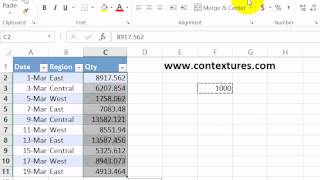 Quickly Divide Numbers in Excel Without Formulas