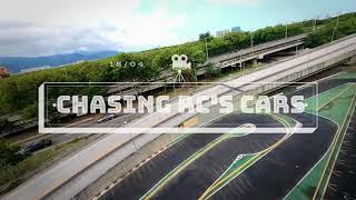 Chasing RC cars with a FPV drone - Perseguindo carros de controle remoto com um drone de FPV
