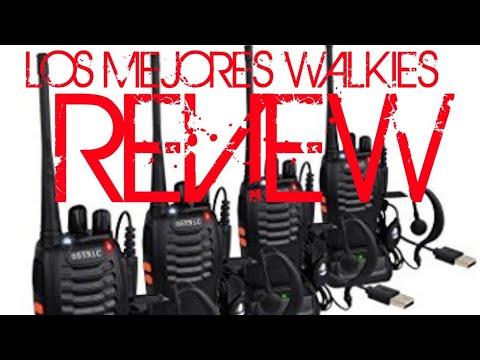 REVIEW Walkie Talkie ESYNIC los mejores sin duda
