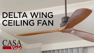 Delta Wing Damp Rated Ceiling Fan