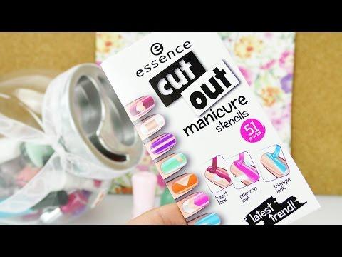 Maniküre Test | Cut out manicure stencils von essence | süße Nägel ganz einfach lakieren