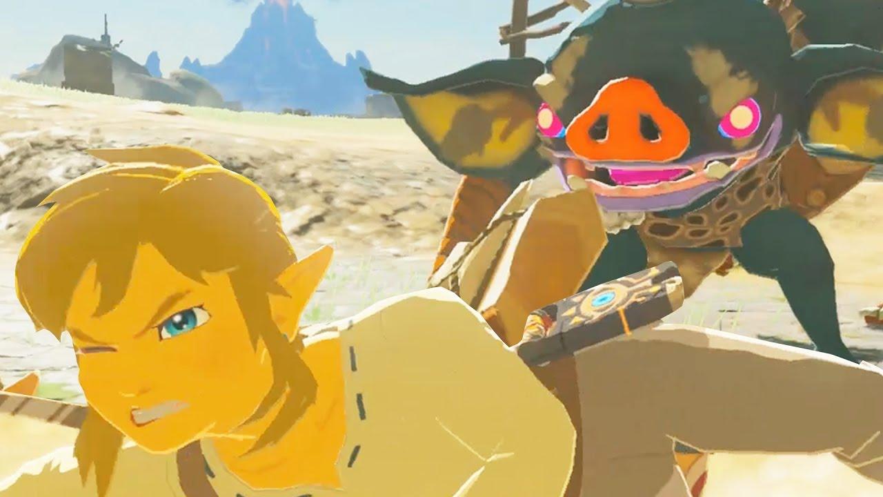 20 Minutes Of Zelda: Breath Of The Wild Gameplay