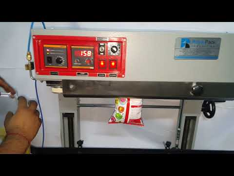Nitrogen Gas Flushing Sealing Machine