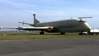 Nimrod MR2 XV232 Ground Run 29-03-2014