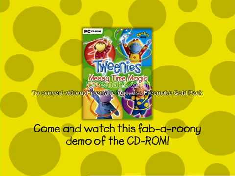 Tweenies Messy Time Magic UK 2003 Promo
