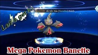 Banette  - (Pokémon) - Mega Pokémon Banette Siêu Sao Đập Đá Kiếm Vàng Cực Phê Pokemon Legends Top