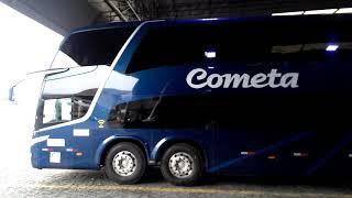 Viação Cometa Novo Paradiso G7 2018 1800DD - Scania K440IB