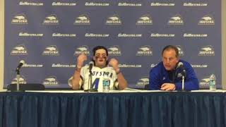 MLAX: Hofstra Postgame Press Conference vs. Lehigh (3/20/18)