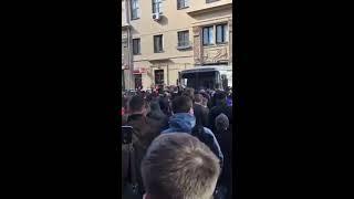 Как Навального забрали на митинге 26 марта в Москве!!!