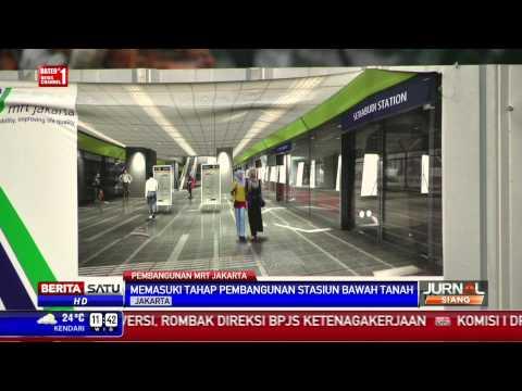 Beritasatu Tv Mrt Masuki Tahap Pembangunan Stasiun Ruang Bawah Tanah