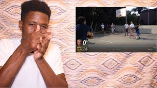 RiceGum and FaZe Adapt play basketball in the HOOD and ball out!!!!!