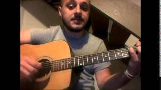 Dave Matthews Band Out Of My Hands Cover By Chadwick Hoskins