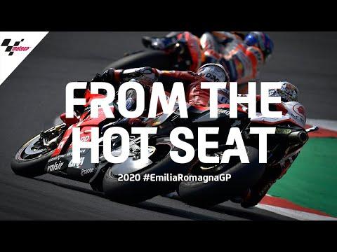 MotoGP ミサノサーキット(エミリア・ロマーニャGP)シートカメラの映像から見所を集めたハイライト動画