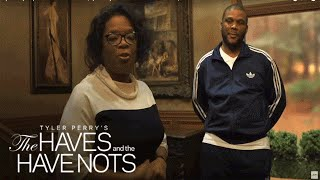 Tyler Perry Surprises Cast and Crew with | Tyler Perry's The Haves and the Have Nots | OWN