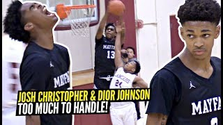 Josh Christopher & Dior Johnson Are TOO MUCH To Handle For The Average Defender!! SHEESH!!