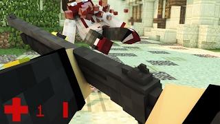 COUNTER STRIKE В МАЙНКРАФТЕ ОТ ПЕРВОГО ЛИЦА - Minecraft CS:GO