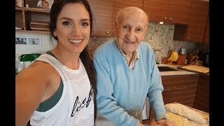 105 Year Old Shares the Secret to Longevity