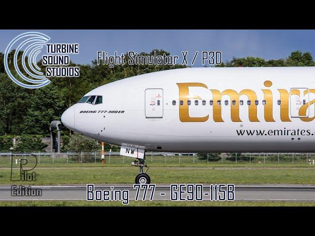 simMarket: TURBINE SOUND STUDIOS - BOEING 777-GE90-115B SOUNDPACK