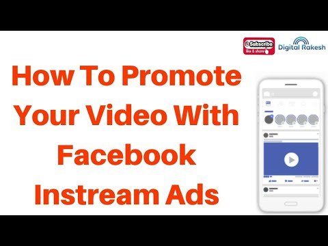 How to promote your video other facebook video with in stream ads 2020