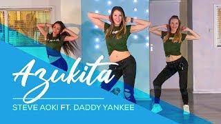 Azukita - Easy Fitness Dance - Daddy Yankee - Steve Aoki - Elvis Crespo - Zumba - Baile