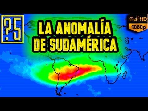 La anomalía de Sudamérica – Atlántico Sur