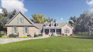FRENCH COUNTRY HOUSE PLAN 348-00097