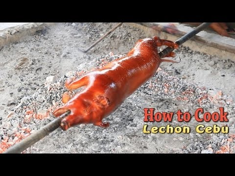 How to Cook Cebu Lechon