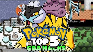 Top 5 Pokemon GBA Rom Hacks Of May! (2019)