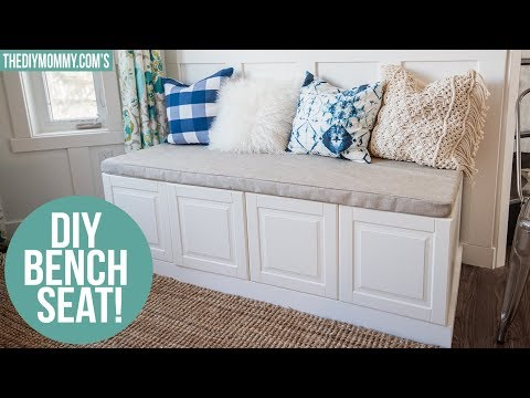 IKEA HACK | How To Build A Bench From Kitchen Cabinets Mp3
