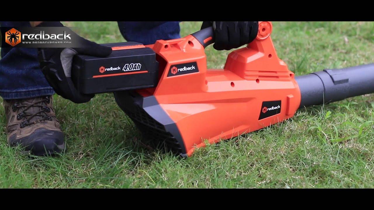 Redback 40V Cordless Garden Tools