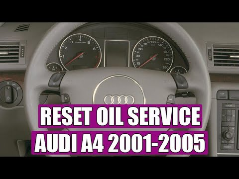 Audi A4 (2001 – 2005) service light reset in 3 steps