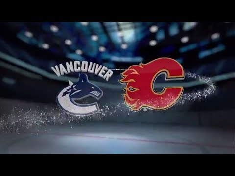Vancouver Canucks vs Calgary Flames - November 07, 2017 | Game Highlights | NHL 2017/18. Обзор матча