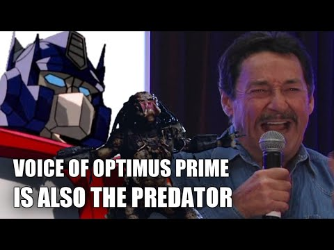 Predator Voice explained by its inventor and actor Peter Cullen