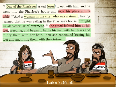 Who is at the Table? | A Sermon from Luke 7:36-50 | Steve