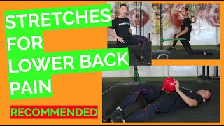 5 Good Stretches For Lower Back Pain And Tight Backs
