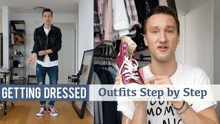 Styling Converse Sneakers   Getting Dressed (Step By Step #20)