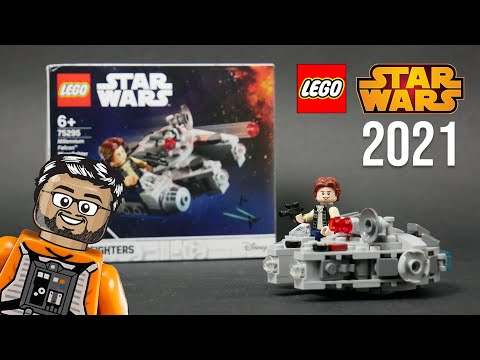 Vidéo LEGO Star Wars 75295 : Microfighter Faucon Millenium