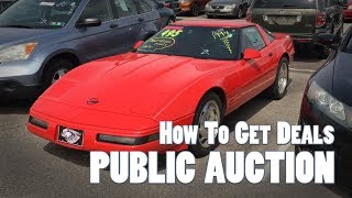 PUBLIC Car Auction - How To Tutorial Guide