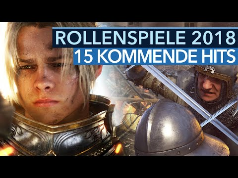 Top-Rollenspiele 2018 - 15 kommende RPG-Hoffnungen (Gameplay)