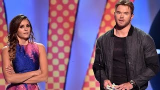 Kellan Lutz Doesnt Want To Be Part Of A Nina Dobrev Rumor! - Teen Choice Awards 2014