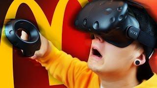 ВИРТУАЛЬНЫЙ МАКДОНАЛЬДС | ИВАНГАЙ | HTC Vive Job Simulator
