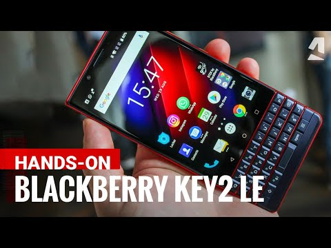Video over Blackberry KEY2 LE